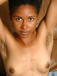 Hairy ebony, Ebony hairy, Ebony amateur, Black hairy, Armpit, Hairy armpits