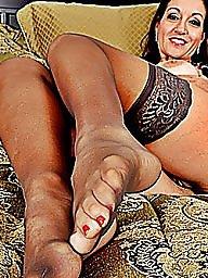 Amateur nylon, Nylon mature, Mature nylon, Mature heels, Mature high heels, Heels