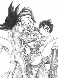 Wife cartoon, Dragon ball, Dragon ball z, Cartoons, Wife, Balls