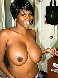 Ebony, Black, Black tits, Ebony big tits, Black boobs, Big black tits
