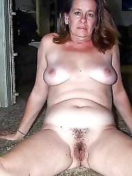 Natural, Hairy milf