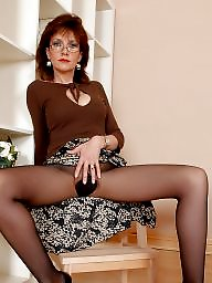 Upskirt stockings, Lady b, Lady, Hose