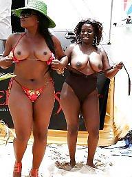 Ebony beach, Ebony tits, Beach tits, Beach
