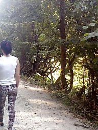 Forest, Young amateur, Spying, Spy, Hidden cam, Romanian