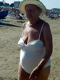 Granny beach, Granny big boobs, Beach granny, Beach boobs, Granny boobs, Granny