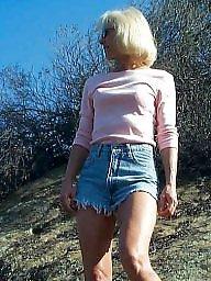Mature nipples, Mature outdoor, Mature public, Public mature