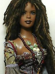 Toys, Dolls, Doll, Ebony, Black, Toy
