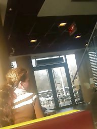 Romanian, Hidden cam, Restaurant, Old young, Young amateur, Spying