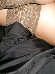 Stockings upskirt, Upskirt, Upskirt stockings, Car