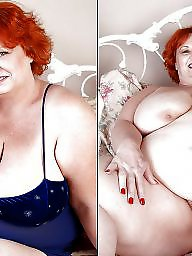 Before and after, Naked, Before after, Bbw clothed, Clothes