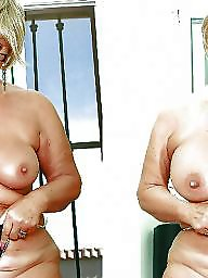 Before and after, Before after, Tit job, Teen big tits, After