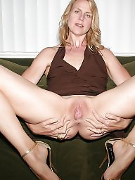 Mature nipples, Blond mature, Pet, Couch
