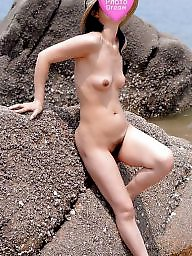 Korean milf, Nude beach, Korean, Milf beach, Nude milf, Asian beach