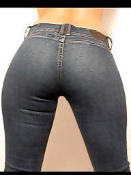 Thong, Thong ass, Strip, Ass, Jeans, Big booty
