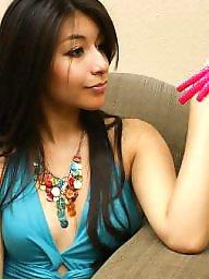 Long nails, Pink