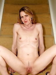 Naked, Mature naked, Blond mature