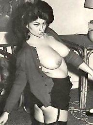 Vintage boobs, Vintage tits, Retro, Vintage big tits, Vintage big boobs