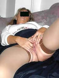 Mature pussy, Shaved pussy, Show pussy, Housewife, Blonde pussy, Blond mature