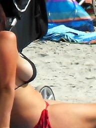 Beach boobs, Beach voyeur