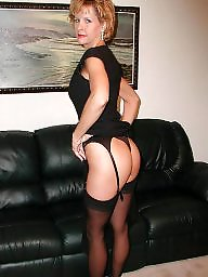 Mature stockings, Sexy mature, Mature stocking