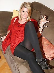 Mature smoking, Tight, Tights, Smoking, Mature heels, Milf heels