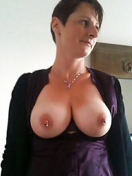 Milf slut, Amateur mature, Exposed