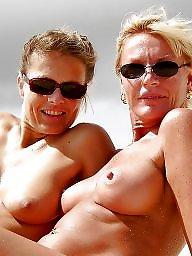 Mature beach, Beach mature, Beach tits