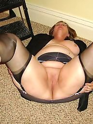 Open pussy, Amateur milf, Milf pussy, Pussy, Moms pussy, Mom stockings
