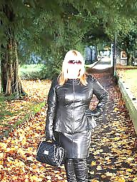 Mature leather, Bbw leather, Boots, Bbw boots, Leather, Mature boots