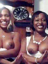 Ebony tits, Ebony amateur