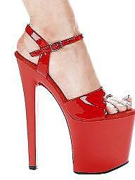 Boots, Heels, High heels