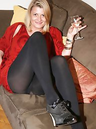 Mature smoking, Tight, Amateur mature, Tights, Smoking, Mature heels