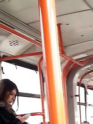 Romanian, Spy, Spying, Bus, Young amateur, Spy cam