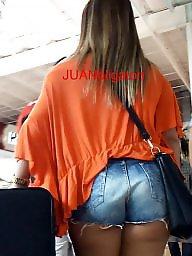 Short shorts, Shorts, Thighs, Milf ass, Latina milf, Latin