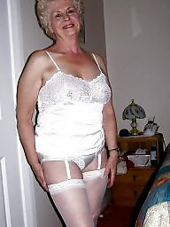 Granny stockings, Mature stockings, Granny, Granny stocking, Grannies, Mature stocking