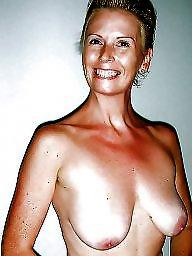 Horny milf, Big tits milf