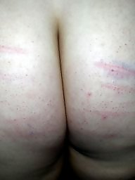 Caning, Amateur bdsm, Caned, First time, Amateur ass