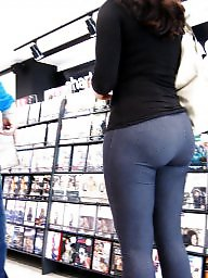 Leggings, Wives, Leg, Street, Tight ass, Tight