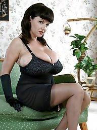 Mature stocking, Sexy mature