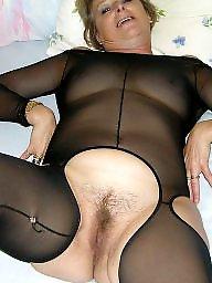 Bodystocking, Nylon mature, Mature nylon, Mature nylons, Bodystockings, Nylons