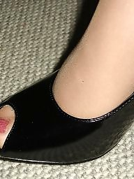 Nylon feet, Amateur nylon, Feet, Nylons, Mature feet, Wife