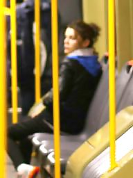 Romanian, Bus, Spy, Hidden cam, Young amateur, Old young