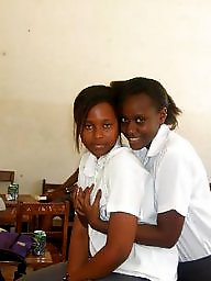 Kenyan, School, Ebony, Black girl, School girl, Black