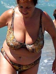 Granny beach, Mature beach, Granny bbw, Beach granny, Bbw beach, Granny tits