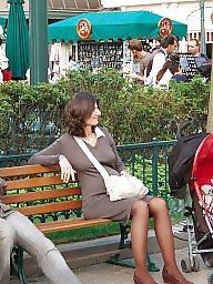Публично в чулках, Девочка в чулках, На публике, 2008, Порно в чулках