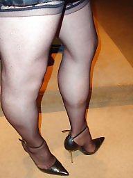 Upskirt mature, Mature stockings, Mature stocking