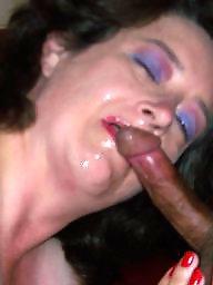 Cock sucking, Milf facial, Milf blowjob
