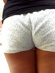 Hidden cam, Short shorts, Ass crack, Shorts, Short, Public ass
