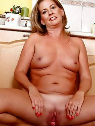 Mature nude, Kitchen, Housewife, Nude