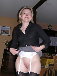 Girdles, Amateur mature, Mature girdle, Mature stocking, Sock, Socks